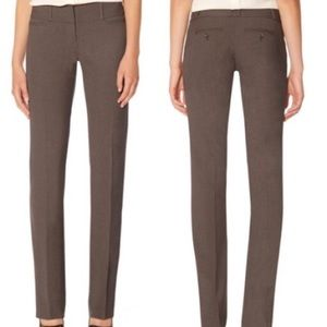 The Limited Drew Fit Brown Work Pants Trousers 4R